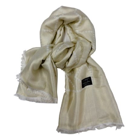 Beige Scarf by Lcore Paris