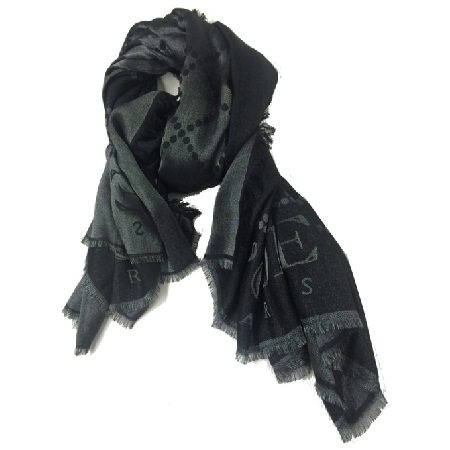Black Scarf by Lcore Paris