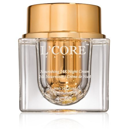 Nourishing 24K Gold Night Cream by Lcore Paris