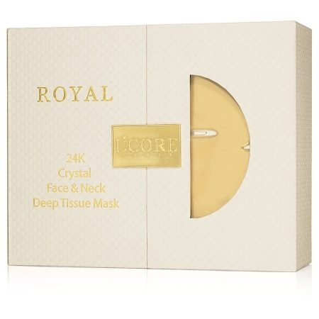 Royal 24K Face & Neck Deep Tissue Mask - Lcore Paris Package